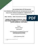 Teoria Contable Positiva Una Revision de Sus Bases Teoricas y La Contribucion a La Teoria General Contable (1)
