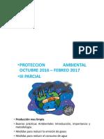 Proteccion Ambiental III Parcial