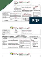 Plan de Clase Mat 6º