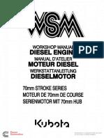 WSM Engine Manual 70 Mm Stroke