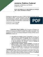 Denuncia del Ministério Público Federal contra José Dirceu