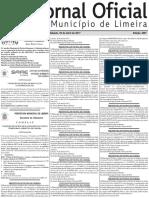 Jornal Oficial de Limeira SP
