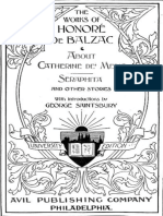 The Works of Honoré de Balzac About Catherine de' Medici, Seraphita, And Other