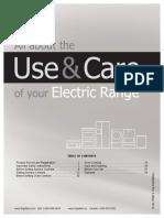Manual Electric Range