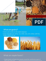 Agriculture and Grains1