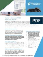 Yeastar S Series VoIP PBX Datasheet Es