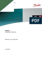 Danfoss Triplelynx Tlx8!10!12.5 15 Installation Manual Es en de Fr It