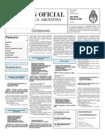Boletin Oficial 22-07-10 - Tercera Seccion