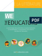 We The Educators - Revue de littérature (Français)
