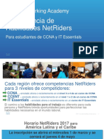 Net Riders Brochure LATAM 2017 SP