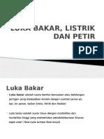 LUKA BAKAR, LISTRIK DAN PETIR.pptx