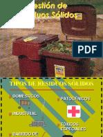 Seguridad, Higiene e Ing. Ambiental - Residuos Solidos 02-09-16
