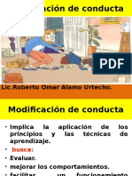 1.Modificación de Conducta