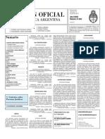 Boletin Oficial 14-07-10 - Segunda Seccion