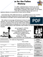 Run For The Fallen NYC Registration