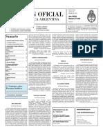 Boletin Oficial 16-07-10 - Segunda Seccion