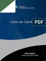 Letra Cambio