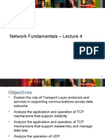 Network_Fundamentals Lecture 4 Transport Layer