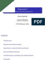 Protocols ii
