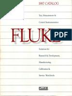 Fluke Catalog 1987