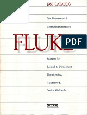 Fluke Catalog 1987 | Calibration | Computing
