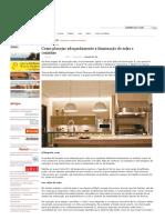 Como Planejar Adequadamente a Iluminação de Salas e Cozinhas _ Fórum Da Construção