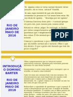 DOMINIC - RIO 2016.pptx