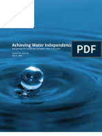 Achieving Water Independence in Buildings