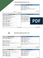 Estrutura Curricular 2017 Integral e Noturno Com Requisitos 2 Usp Ribeirão Preto