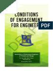 Conditions of Engagement 2015 - APETT