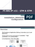 BIG-IP LTM & GTM v11 - Training Slides