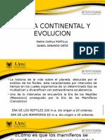 Deriva Continental y Evolucion