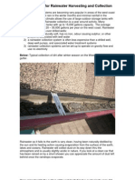 Filter Systems for Rainwater Harvesting and Collection