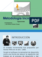 Ingeniería Web - Metodología Incremental