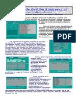 Resumen - Sistema de Gestión Empresarial