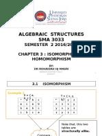 20170321120320chapter 3 - Isomorphism and Homomorphism