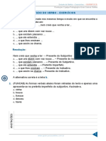 Resumo 1831410 Elias Santana 26433810 Gramatica II Aula 11 Estudo Do Verbo Exercicios
