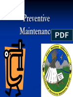 Preventive Maintenance Plan - Gerry Gusdal