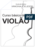 Apostila Violão Harmonia Celeste Pronta