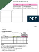 Matriz de Riesgos - OSHA 18000