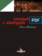 Anarquia e Anarquismo