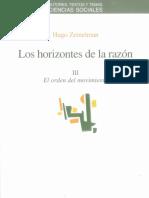 III.lzemelman. Horizontes de La Razon III