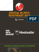 Digital in 2017 Southeast Asia