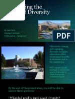 diversity in higher ed