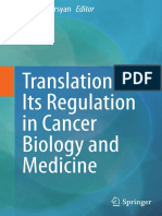 Translation and Its Role in Cancer