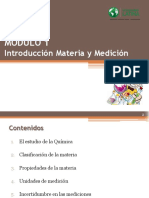 Presentación 01. Introducción. Materia y Medición