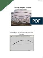 Analisis y Diseño de Arco Metalico PDF