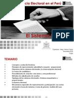 Sistema Electoraal Peruano