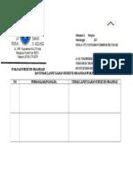 2.3.3.1 Bukti Evaluasi Terhadap Struktur Organisasi Puskesmas