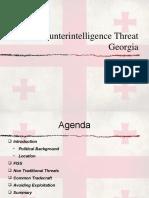 CI Threat Briefing - Georgia